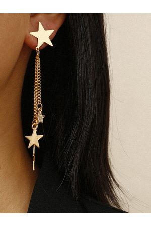 YOINS Mujer Aretes - 1pair Star & Chain Drop Earrings
