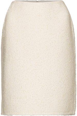 Marc Jacobs Wool-blend bouclé pencil skirt