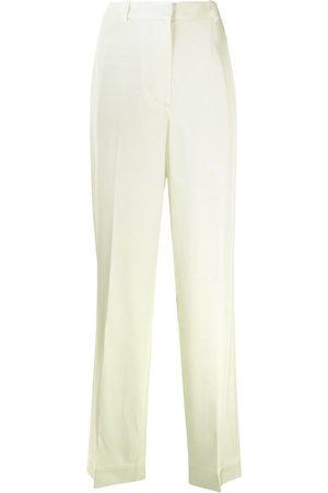 Vintage Pantalones De Vestir De Mujer Color Amarillo Fashiola Mx
