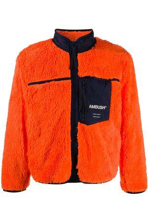 AMBUSH Bomber - Chamarra de lana con logo estampado