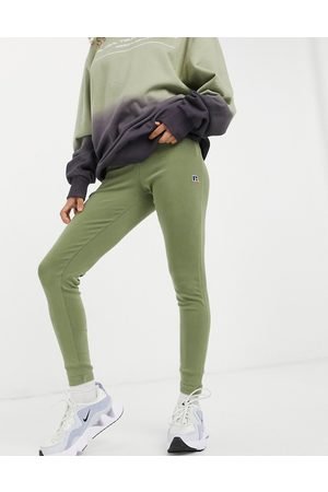 Russell Athletic Ribbed leggings in khaki