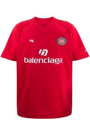 Balenciaga Playera de fútbol con logo