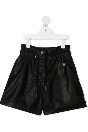 Alberta Ferretti Shorts - Faux leather shorts