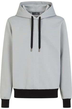 Dolce & Gabbana Drawstring-hood long-sleeve hoodie