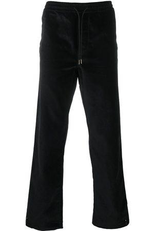 Maharishi Velvet-effect track trousers