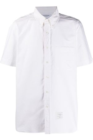 Thom Browne Short-sleeved Oxford shirt
