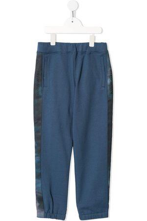 Emporio Armani Logo-tape track trousers