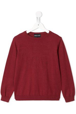 Emporio Armani Fine-knit crew-neck jumper