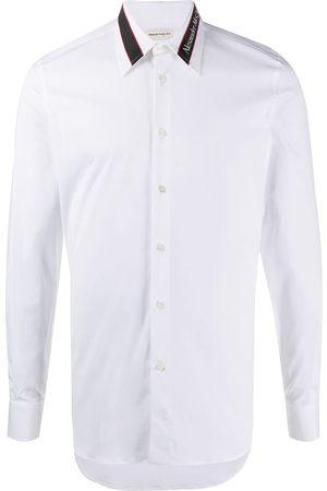 Alexander McQueen Camisa con franja del logo