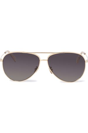 Céline Aviator sunglasses with leather pouch