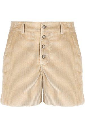 Etro Mujer Shorts - Shorts con botones