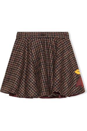 Dolce & Gabbana Falda de tweed con bordado