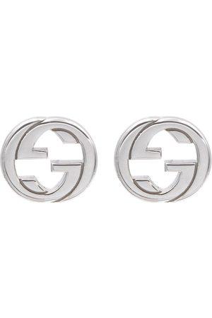 Gucci Interlocking G sterling silver earrings
