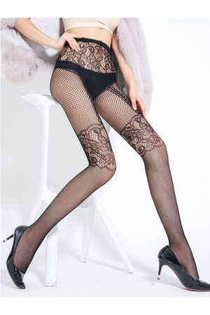 YOINS Fishnet Lace Stocking
