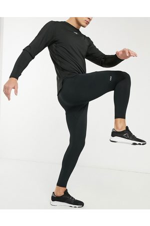 ASOS Icon training tights with quick dry in black