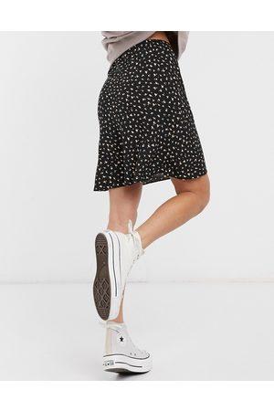 ASOS Mini bias slip skirt in floral print