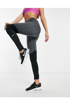Nike Runway warm leggings in black