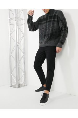 ASOS Classic rigid jeans in washed black