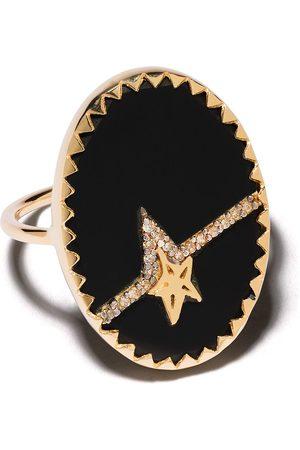 Pascale Monvoisin Anillo Varda Nº 3 en oro amarillo de 9kt con diamantes