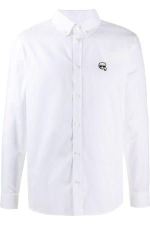 Karl Lagerfeld Camisa Ikonik Oxford