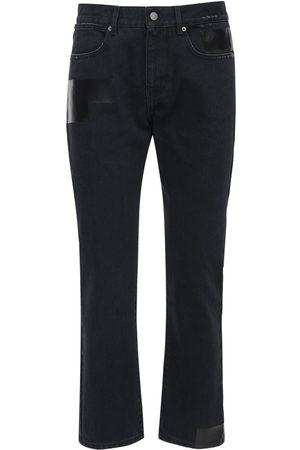 McQ Jeans Slim Fit ##foam## De Denim De Algodón