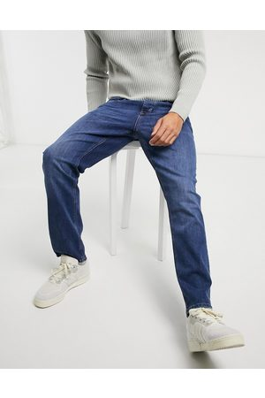 River Island Straight jeans in mid blue