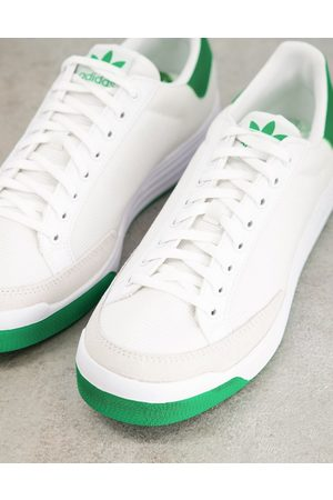adidas Rod Laver trainers in white