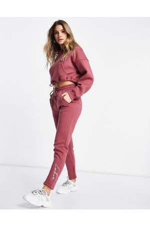 The Couture Club Jogger in mauve