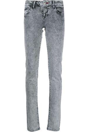 Philipp Plein Skinny jeans con tiro medio