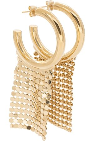 Paco rabanne Pixel hoop earrings