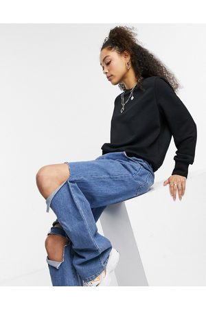 Noisy May Sweatshirt in black