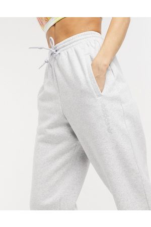 adidas Cosy Comfort' oversized cuffed joggers in grey