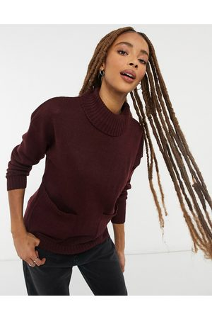 Wednesday's Girl High neck jumper with pockets
