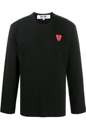 Comme des Garçons Embroidered Two Heart T-shirt