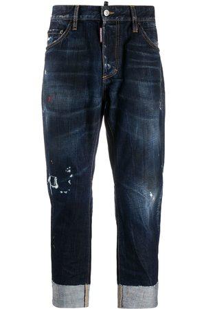 Dsquared2 Jeans envejecidos con dobladillo vuelto