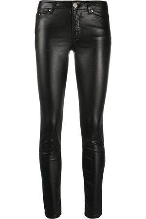 Karl Lagerfeld Skinny jeans metalizados