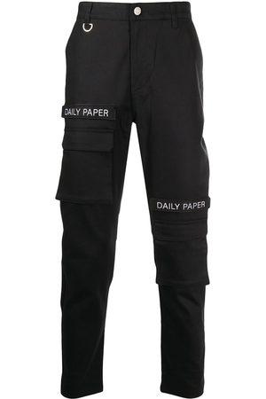 Daily paper Pantalones tipo cargo con parche del logo