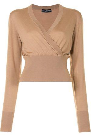 Dolce & Gabbana Suéter cruzado