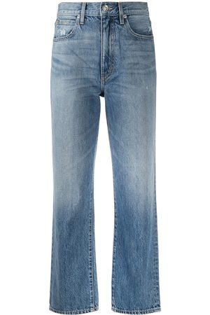 SLVRLAKE Jeans capri con tiro alto
