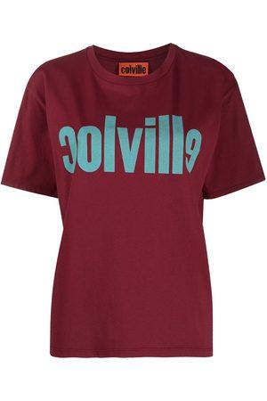 Colville Mujer Playeras - Playera con logo estampado