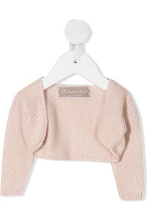 LA STUPENDERIA Cropped wool cardigan