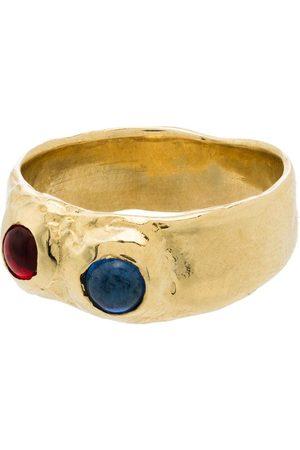 Mondo Mondo Gold tone Felt ring