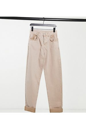Reclaimed Vintage Inspired the '83 unisex relaxed fit jean in tan
