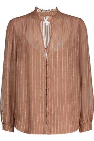 Velvet Tomei striped blouse