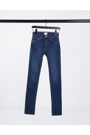French Connection Rebound skinny jeans in blue