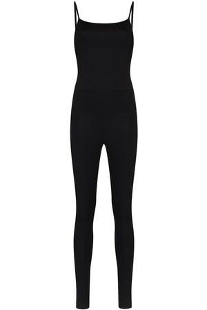 GIRLFRIEND COLLECTIVE Mujer Largos - Jumpsuit deportivo con tirantes finos
