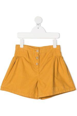 KNOT Shorts de vestir con tiro alto
