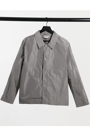 Weekday Hombre Camisas - Georg Overshirt in grey