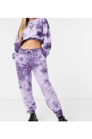 Wednesday's Girl Mujer Leggings y treggings - Relaxed joggers with celestial print co