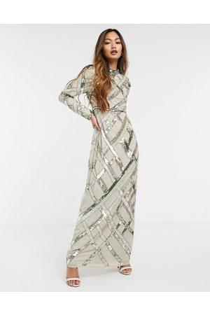ASOS Mujer Vestidos de noche - Lattice embellished maxi dress
